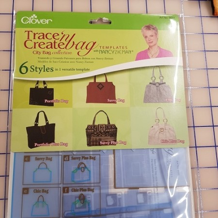 Trace and Create City Bag